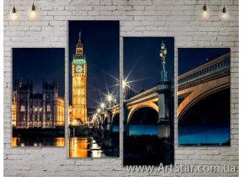 Модульные Картины, Город, Art. SITY787193
