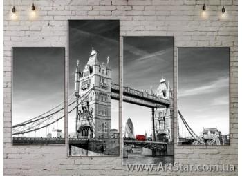 Модульные Картины, Город, Art. SITY787197