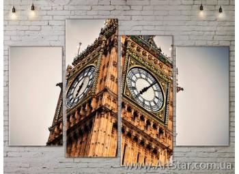 Модульные Картины, Город, Art. SITY787225