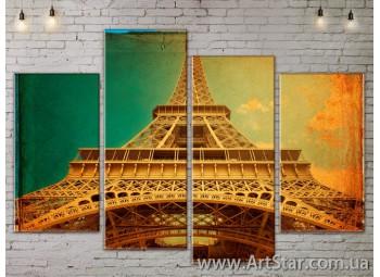 Модульные Картины, Город, Art. SITY787255