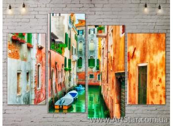 Модульные Картины, Город, Art. SITY787265