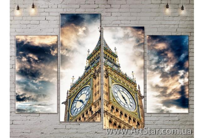 Модульные Картины, Город, Art. SITY787269