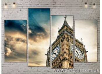 Модульные Картины, Город, Art. SITY787293