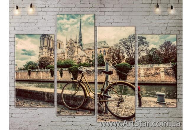 Модульные Картины, Город, Art. SITY787295
