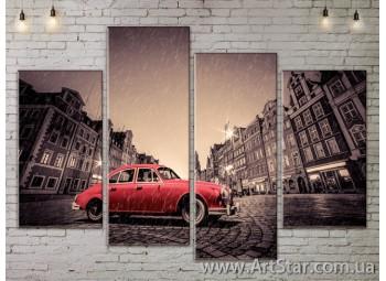 Модульные Картины, Город, Art. SITY787301