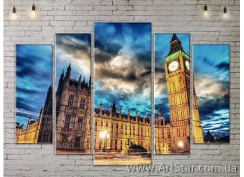 Модульные Картины, Город, Art. SITY787372