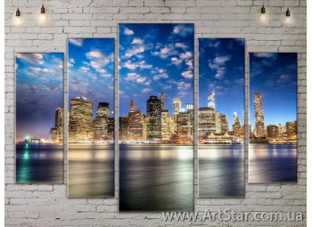Модульные Картины, Город, Art. SITY787388