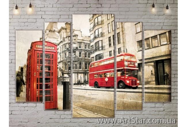 Модульные Картины, Город, Art. SITY787416