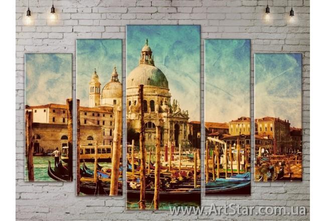Модульные Картины, Город, Art. SITY787424