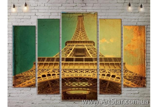 Модульные Картины, Город, Art. SITY787426