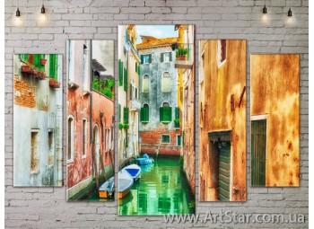 Модульные Картины, Город, Art. SITY787436