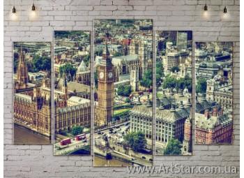 Модульные Картины, Город, Art. SITY787442