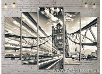 Модульные Картины, Город, Art. SITY787446