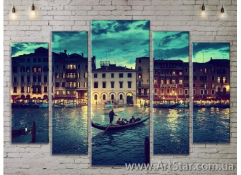 Модульные Картины, Город, Art. SITY787448