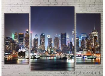 Модульные Картины Города, Art. STRM778001