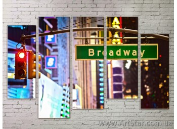 Картина Модульная Город, Art. STRM778011