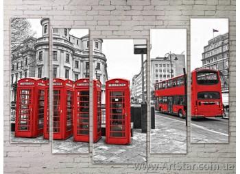 Картина Модульная Город, Art. STRM778017