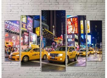 Картина Модульная Город, Art. STRM778039