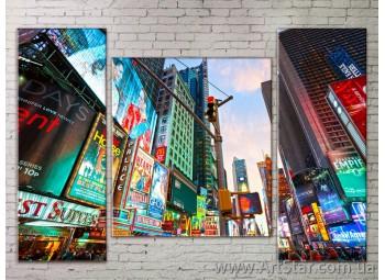 Модульные Картины Города, Art. STRM778069
