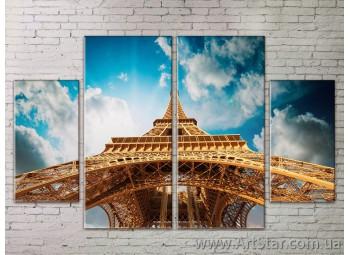 Картина Модульная Город, Art. STRM778083