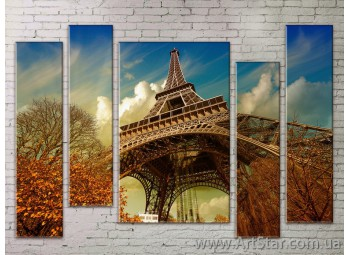 Картина Модульная Город, Art. STRM778089
