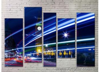 Картина Модульная Город, Art. STRM778103