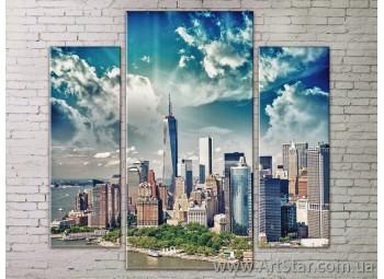 Модульные Картины Города, Art. STRM778105