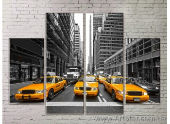 Картина Модульная Город, Art. STRM778135