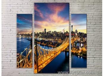 Модульные Картины Города, Art. STRM778167