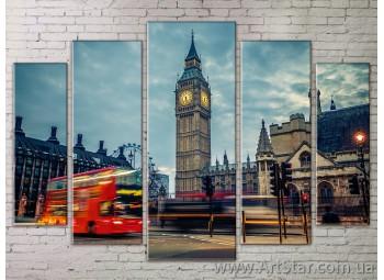 Картина Модульная Город, Art. STRM778175