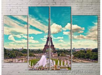 Картина Модульная Город, Art. STRM778177