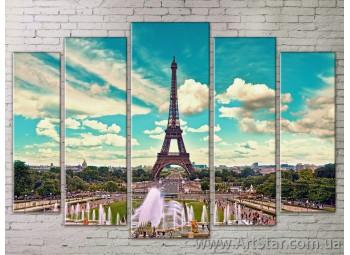 Картина Модульная Город, Art. STRM778179