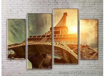 Картина Модульная Город, Art. STRM778221
