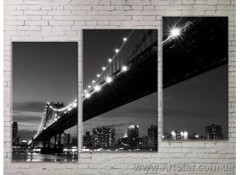 Модульные Картины Города, Art. STRM778240