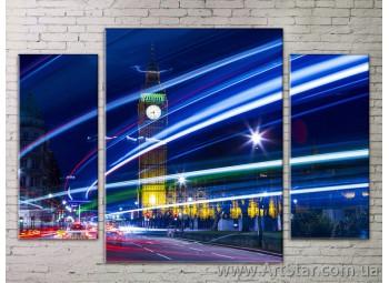 Модульные Картины Города, Art. STRM778256