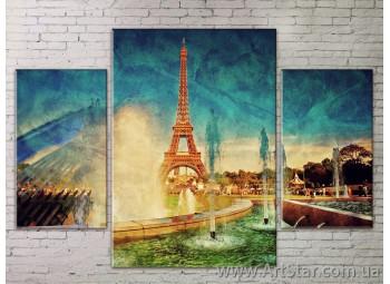 Модульные Картины Города, Art. STRM778268