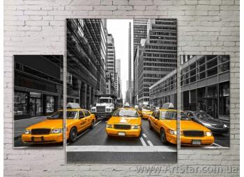 Модульные Картины Города, Art. STRM778270