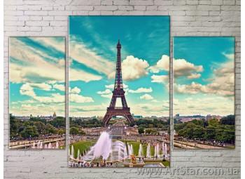 Модульные Картины Города, Art. STRM778282