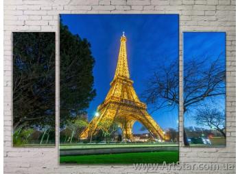Модульные Картины Города, Art. STRM778294