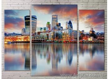 Модульные Картины Города, Art. STRM778298
