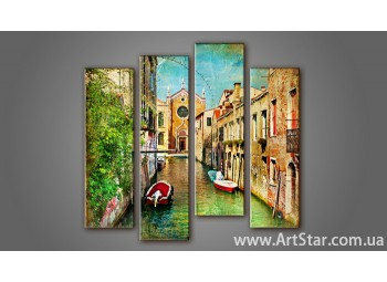 Модульная картина Венеция (4) 2