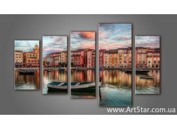 Модульная картина Венеция (5) 3