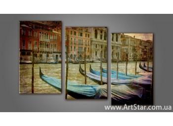 Модульная картина Венеция 3