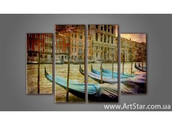 Модульная картина Венеция (4) 4