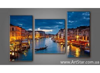 Модульная картина Венеция 5