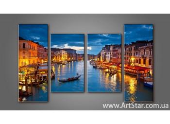 Модульная картина Венеция (4) 6