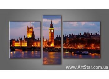 Модульная картина Лондон 2
