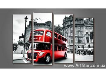 Модульная картина Панорама Лондона (4) 5