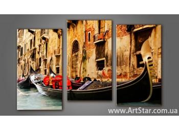 Модульная картина Венеция 6