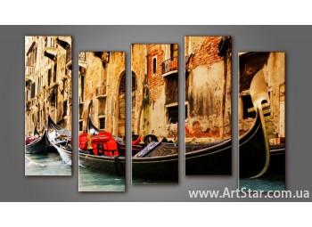 Модульная картина Венеция (5) 7